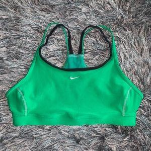 Nike Sports Bra Size Small Green
